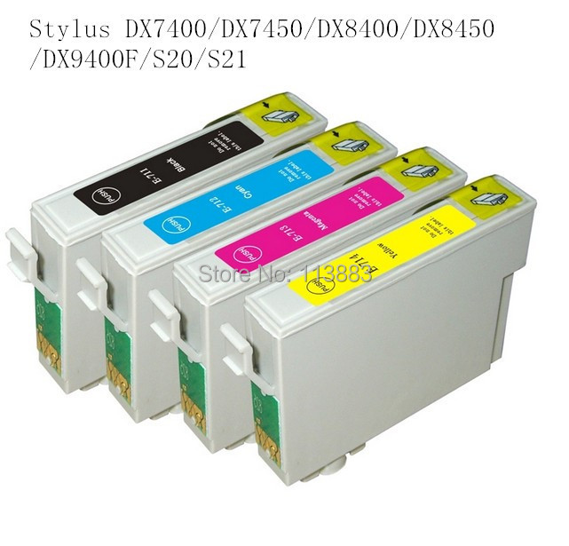 71T0711 compatible ink cartridge for EPSON Stylus DX7400/DX7450/DX8400/DX8450/DX9400F/S20/S21Office B40W/BX300F/BX300FW/BX310FN <br><br>Aliexpress