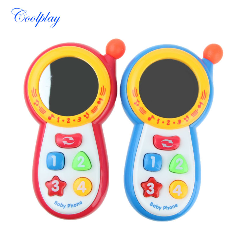 Coolplay Baby Kids Learning Study Musical Sound Cell Phone Educational Toys,mobile kids phones,learning toy mobile phone 1013-3A(China (Mainland))