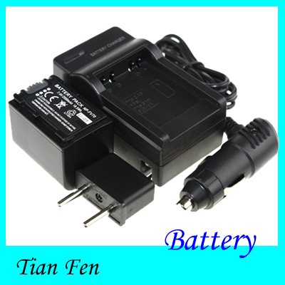 TianFen Hot Sale 1pcs Battery +Charger NP-FV70 NP FV70  Rechargeable Camera Battery For Sony Free Shipping<br><br>Aliexpress