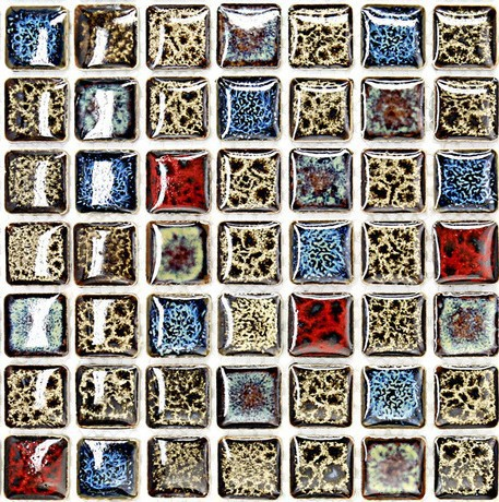 Glazed Porcelain Tile In Kitchen