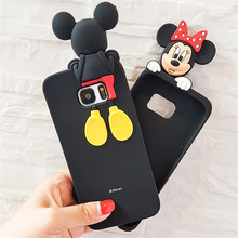 Buy Samsung Galaxy S6 S7 S7Edge Note 3/4/5 Cases Mickey Minnie Mouse Cartoon Coque Soft Silicone Phone Cases Cover Capa Fundas for $4.22 in AliExpress store