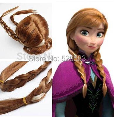 Anna from Frozen Children's Wig(China (Mainland))