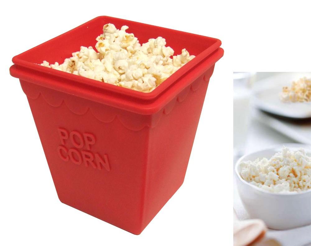 Гаджет  Silicone Microwave Popcorn Maker None Дом и Сад