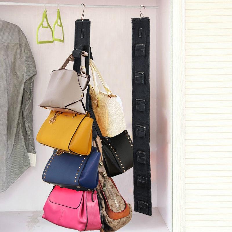 new stand receive dust bag multilayer door closet bag case durable door pockets handbags hanging bags organizer storage bag(China (Mainland))