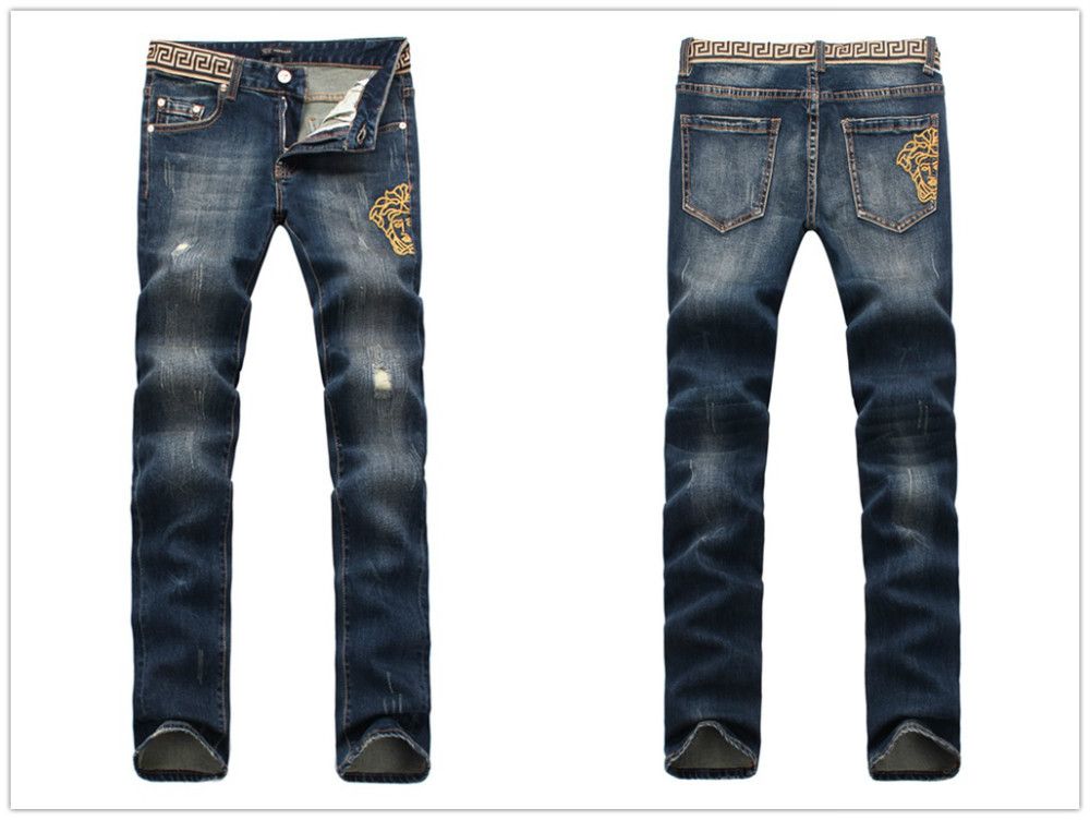 men italy fashion distressed jeans 8030 size 32 36 destroyed ripped biker pants in jeans from. Black Bedroom Furniture Sets. Home Design Ideas