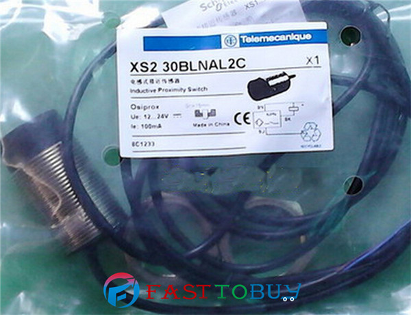 5pcs/Lot XS230BLNAL2C Proximity Switch 12~24V DC NPN NO 3-wire Disembedded type 2M Cable New<br><br>Aliexpress