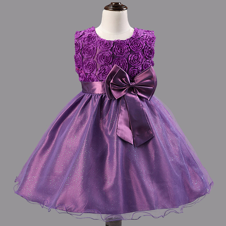 Flower girl dresses for weddings girls pageant dresses for for Wedding dresses for young girls