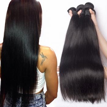 """Mink brazilian virgin hair straight 4pcs queen hair products,brazilian straight hair 8""""-30"""" Brazilian human Hair weave bundles"""