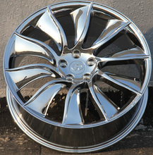 20x8.5 21x9.5  chrome  car alloy wheel rims fit for Infiniti FX(China (Mainland))