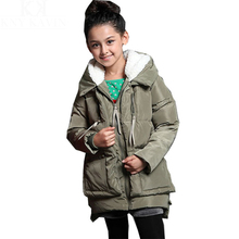 Free shipping, 2014 new arrival children baby girl boy's long sleeve solid hooded coat winter fashion casual down jacket,KU152