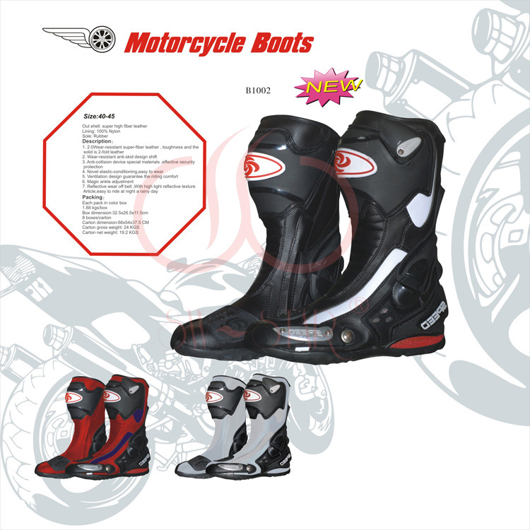 2013 New SCOYCO MBT002 Off-road Racing Boots Motorcycle Boots Riding