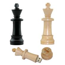 U disk Wood Chess USB 2.0 usb flash drives 4GB 8GB 16GB 32GB 64GB international chess pendrive usb memory stick(China (Mainland))