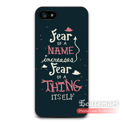 Fear Of A Name Quote Protective Cover Case For iPhone 6 6 ...