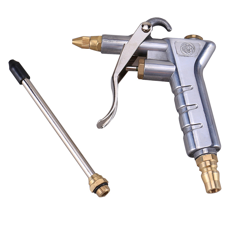 Airbrush Air Blow Dust Gun Pneumatic Cleaning Gun High Pressure Cleaner With Extension Rod Spray Paint Gun Duster Cleaning Tools(China (Mainland))