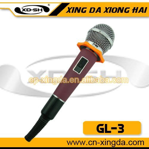 Popular wire dynamic microphone