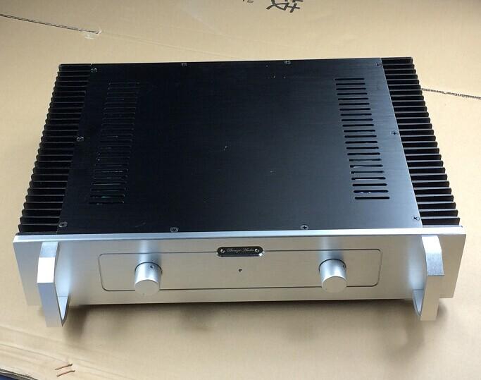 handle version / Standard / BZ4309 Professional Profile aluminum amplifier chassis AMP case Enclosure DIY BOX (430*90*308mm)(China (Mainland))