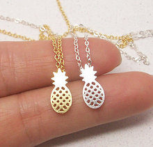 Buy 2016 New Fashion Necklace Zinc Link Chain Pineapple Necklace Everyday Fruit Pineapple Pendant Necklaces Women Party Gift for $1.09 in AliExpress store