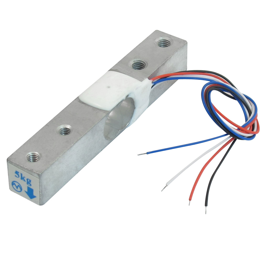 80mmx12.7mmx12.7mm Weighing Electronic Balance Wired Load Cell Sensor 0-5Kg(China (Mainland))