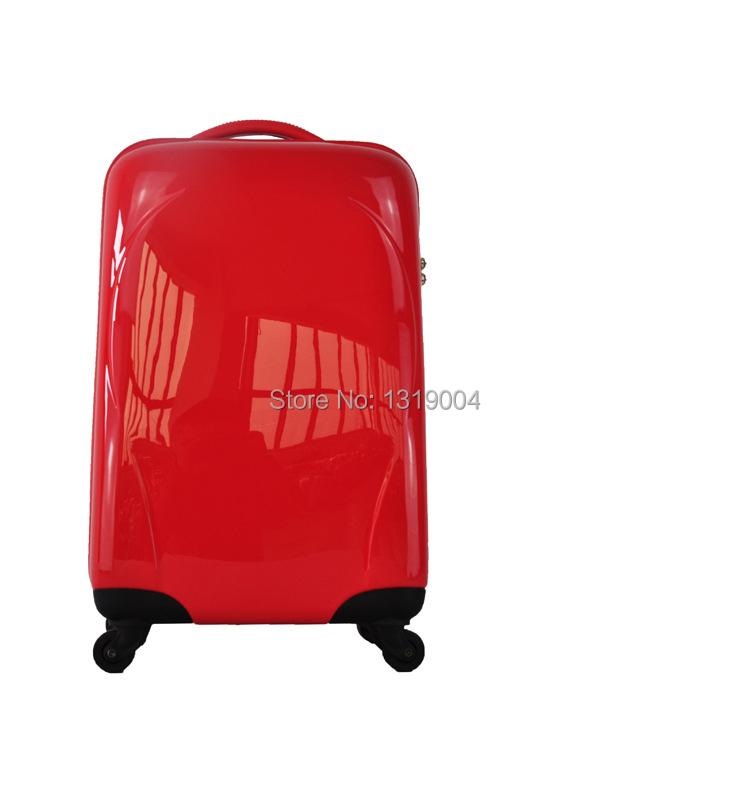 Red Vintage Suitcase Bride Vintage Red Luggage