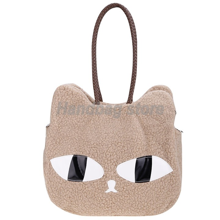 Fashion Style Women Cute Cat Face Pattern Bag Shopping Handbags Cross Bags Tote Shoulder - Store NO1 store