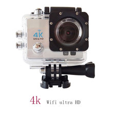 High Quality 4K 25FPS Action Camera1920*1080@60FPS Full HD Sports Video Camera Wifi 40M Waterproof 2.0inch LCD Helmet Camera