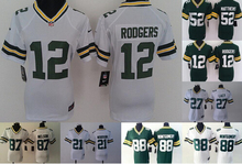 2016 Women Ladies Green Bay Packers,Aaron Rodgers,eddie lacy,Randall Cobb,Montgomery,Clay Matthews,100% stitched logo,camouflage(China (Mainland))