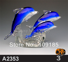 Top Quality Newest Design Blown Glass Fish Ornaments