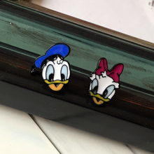 Timeless Wonder Chic Cute Enamel Duck Stud Earrings Designer Bijoux Punk Trendy korean Japan Star Pop New Stylist Picks 5612