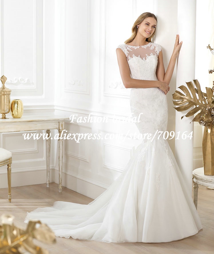 Awesome Sheer Top Wedding Dress Images - Styles & Ideas 2018 - sperr.us