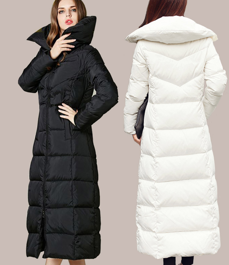 Full length winter coat womens – Modern fashion jacket photo blog