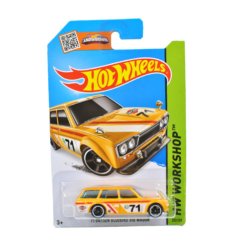 Free Shipping 1:64 Hot Wheels 71 DATSUN BLUEBIRD Alloy Collectible Model Toy Car For kids C4982(China (Mainland))