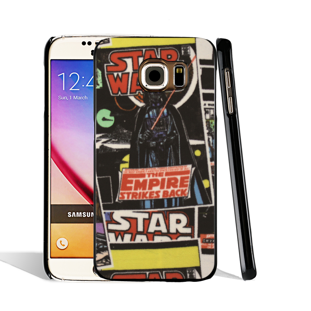 07630 Star Wars Comic Fabric cell phone case cover for Samsung Galaxy S7 edge PLUS S6 S5 S4 S3 MINI(China (Mainland))