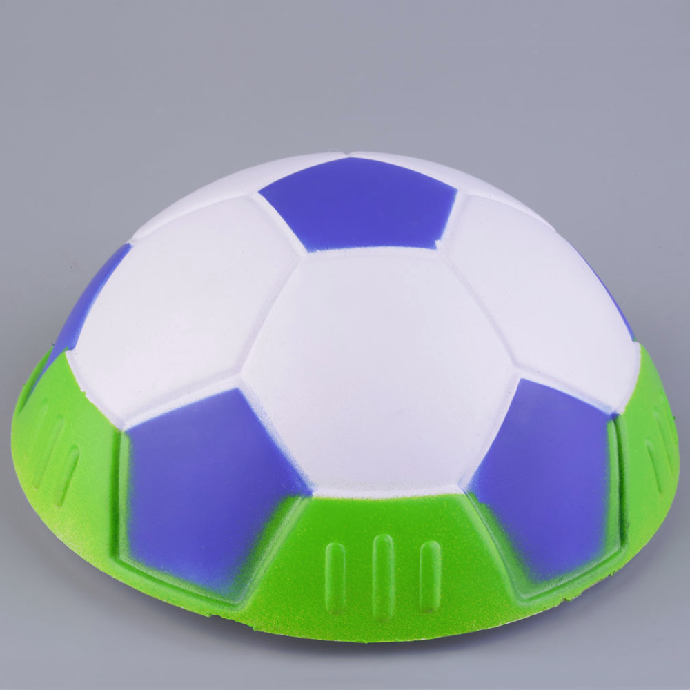 2016 New Hover Ball Kids Indoor Safe Fun Soft Gliding Floating Foam Soccer Football Promotion(China (Mainland))
