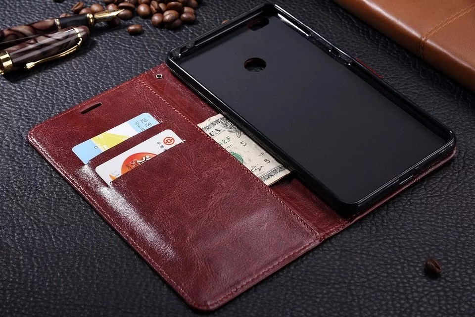 Case For Xiaomi Mi Max Luxury PU Leather Wallet Card Flip Holder Case Cover Fundas For Xiaomi Max Phone Accessories