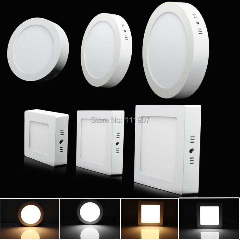 Livraison Gratuite! Surface Montu00e9 LED Plafond Panneau Lumineux Rond ...