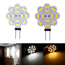 Buy 5Pcs/Lot 3W 12V SMD 5730 G4 LED Light Lamp Bulb Indoor Home Use White/Warm White Super Bright Optional for $4.04 in AliExpress store