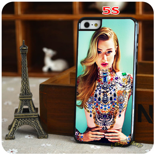Fans Gift Beauty Iggy Azalea Jewels Trill Swag Inspired Hard Plastic Mobile Phone Case for Apple iPhone 4 4s 5 5s 5c 6 6Plus(China (Mainland))