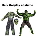 New Avengers Hulk Costumes for kids Fancy dress Halloween Carnival Party Incredible Cosplay Boy Kids dress