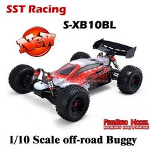 2015 New SST S-XB10BL 1/10 Scale Brushless Motor Electric 4WD off-Road RC Truggy , 4X4 radio controlled cars Ready to Run(China (Mainland))