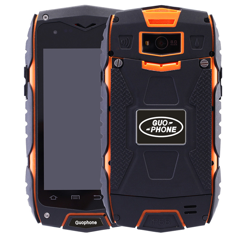 2016 New Outdoor waterproof shockproof GUOPHONE V11 rugged Smartphone Android 5.0 MTK6582 Quad Core GPS Compass mobile phones(China (Mainland))