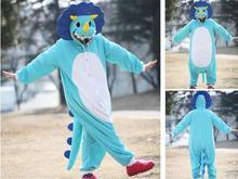 Animal Costume Cosplay Adult  Pyjamas JP Animal blue yellow dragon Orange kangaroo giraffe bear lion Pajamas free shipping(China (Mainland))
