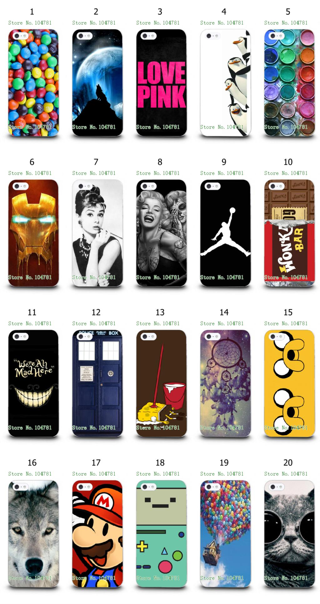 Mobile Phone Case Hot 1pc Love Pink Wolf Penguins Hybrid Design Protective White Hard Case For Iphone 4 4S Free Shipping(China (Mainland))
