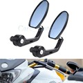 Motorcycle accessories Universal Rearview Mirror Motorcycle Scooter side mirrors 7 8 22 mm bar end mirror