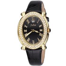 Señora Women de reloj de cuarzo horas mejor vestido de moda de corea pulsera marca charol reloj Retro roma JA460