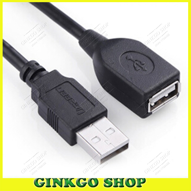 5pcs/lot USB 2.0 Extension Data Cable Male to AM to AF Female Line copper inside(China (Mainland))