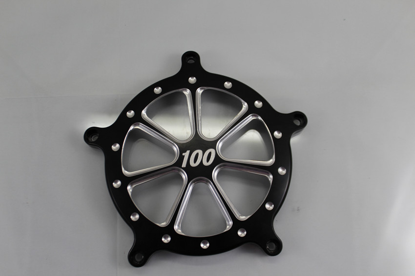 Black Refit CNC Air Filter Cover For Harley(China (Mainland))