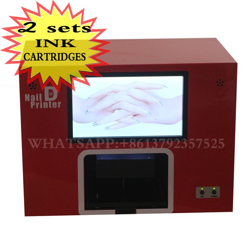 2016 NEW updated FACTORY OFFER Lowe price Nail Salon Tool nail printing machine digital nail art(China (Mainland))