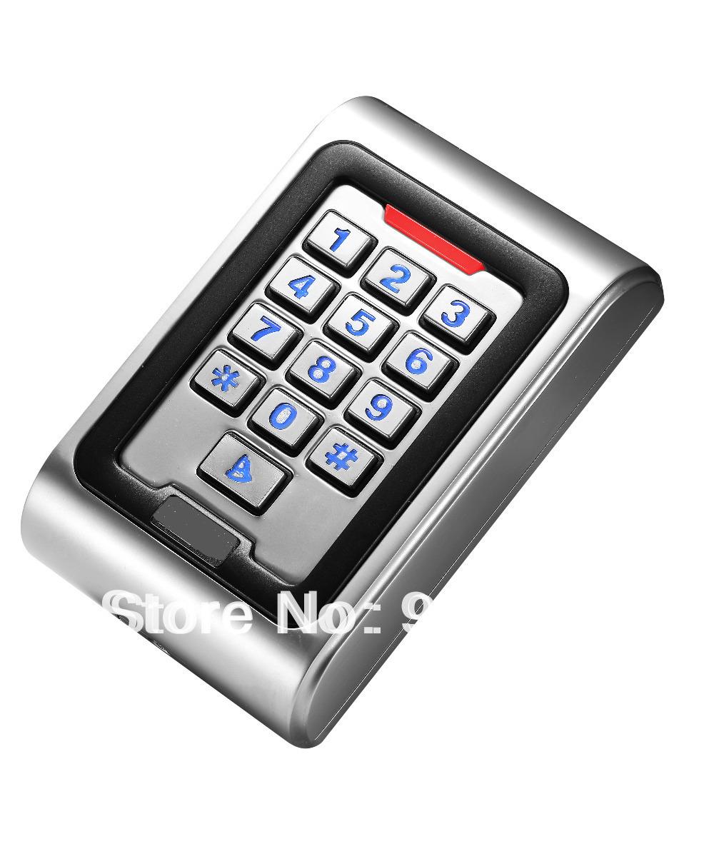 Brand New 125Khz RFID IP68 Waterproof Anti-Vandal Metal Access Control Keypad<br><br>Aliexpress