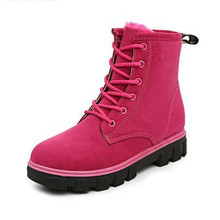 Buy Women Boots 2016 Korean Martin Boots Shoes Black Botas Mujer Women Winter Boots Warm Fur Ankle Boots Women Winter Shoes for $29.73 in AliExpress store