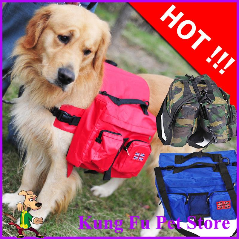 New Dog Carriers Outdoor Portable Bag Pets Bring its own Food and Toys With Packbag Dual-use Fits For Ennly Husky Big Dog P499(China (Mainland))